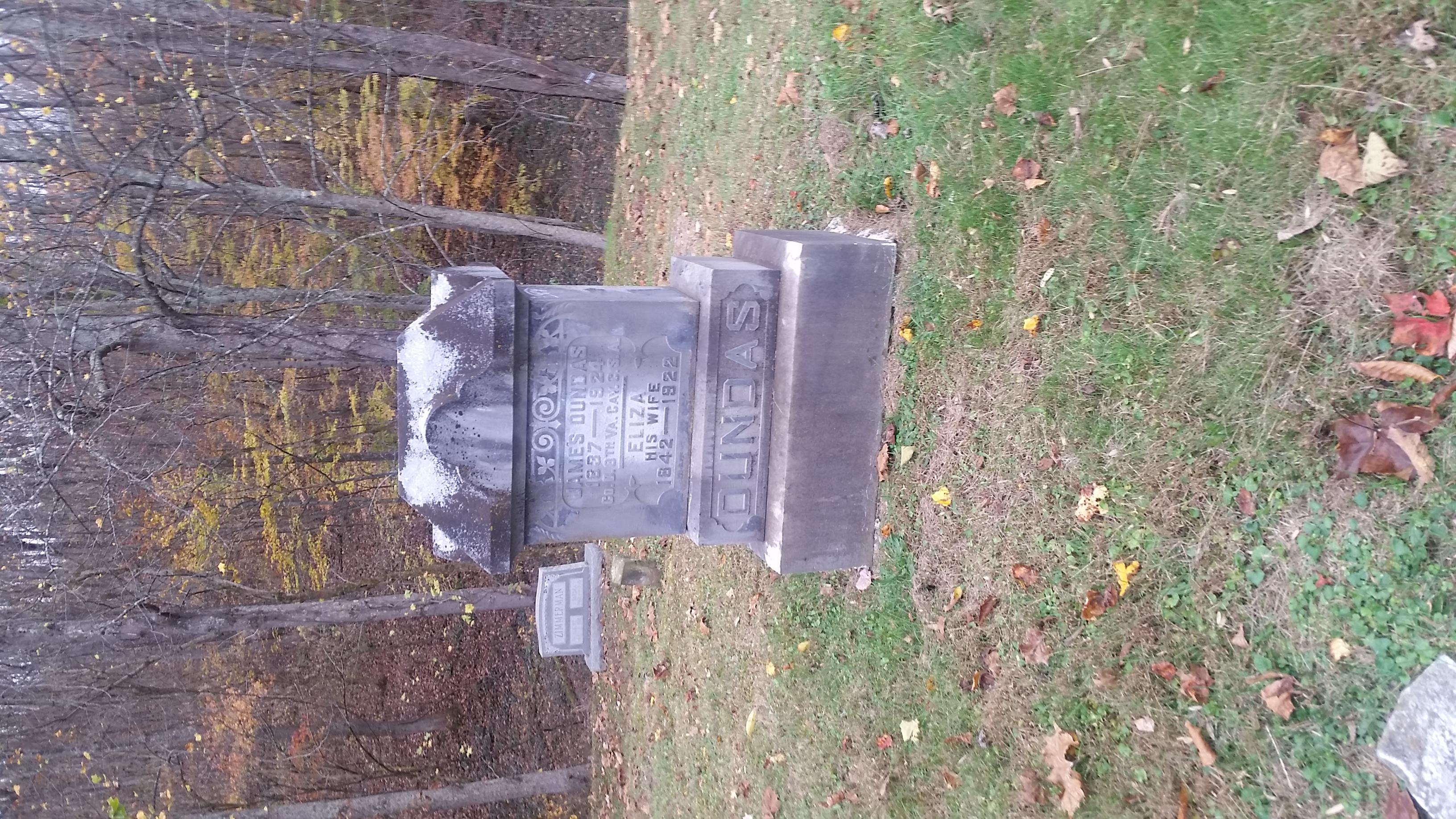 James Dundas grave