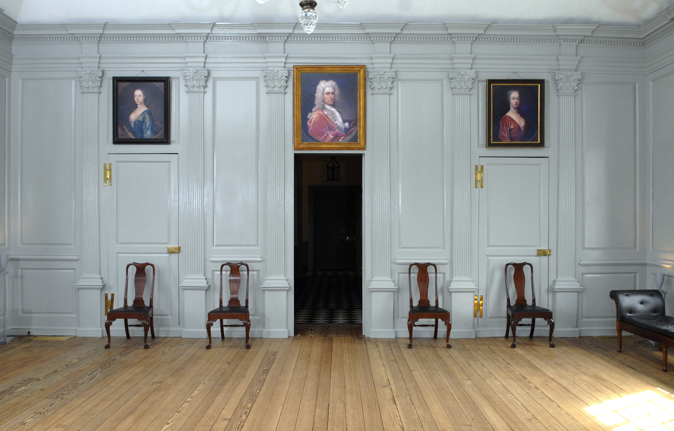 The great hall inside the Great House.