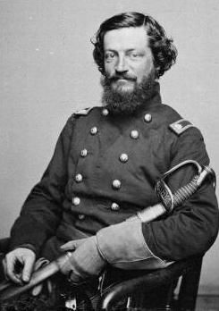 Brevet Major General Kane towards the end of the Civil War
