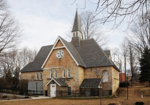 Exterior of Kane Memorial Chapel