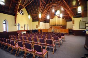 Interior of chapel