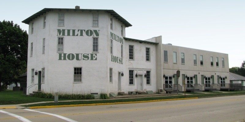 The Milton House is part of the National Underground Railroad Network to Freedom.