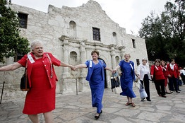 Daughters of the Republic of Texas celebrate 100th anniversary of acquiring custodianship of the Alamo, October 5, 2006