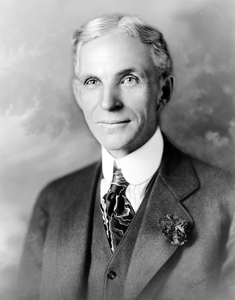 Henry Ford in 1919. Because of his perseverance and innovation that began at this location, Ford would revolutionize industry practices and build one of the largest automobile manufacturing companies in the world.