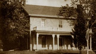 The Farm House-1865- Courtesy of Iowa State University Museums
