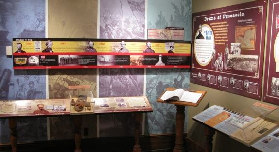 A tribute to the Civil War can be found on the second floor of the museum.