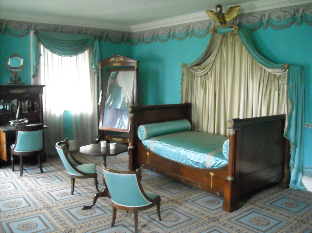 One of the inner rooms of the mansion which is still preserved up to date.