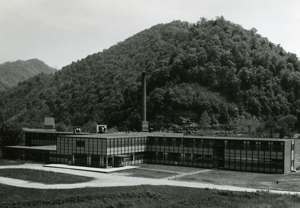 The hospital opened in 1954 and was one of the most important regional institutions in this section of West Virginia.