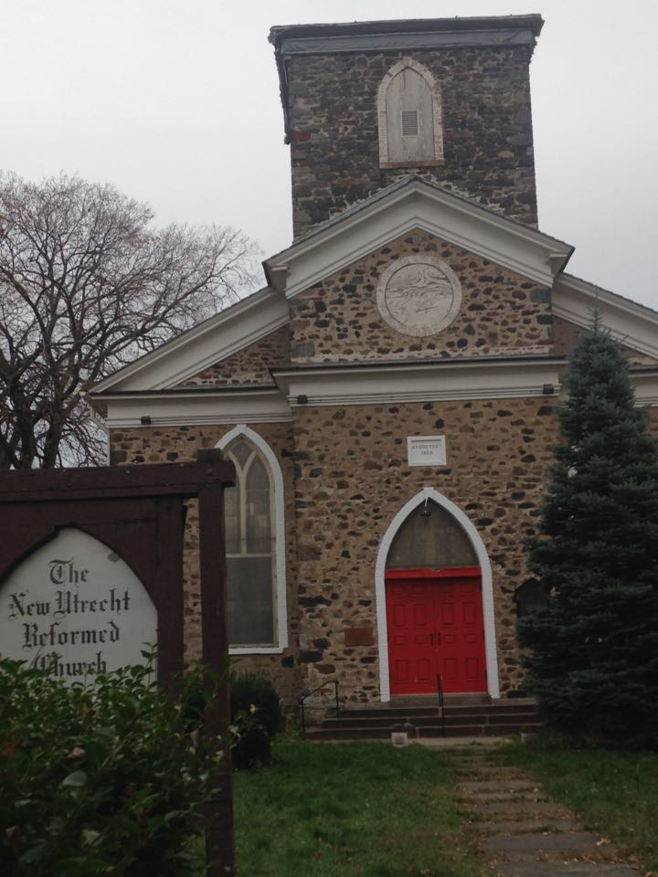 Front of New Utrecht Reformation Church