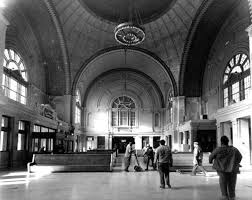 Inside the Birmingham Terminal Station.