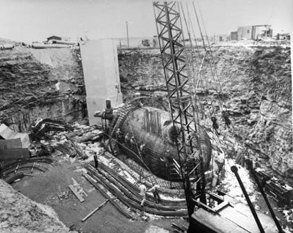 Minuteman Missile Silo Construction