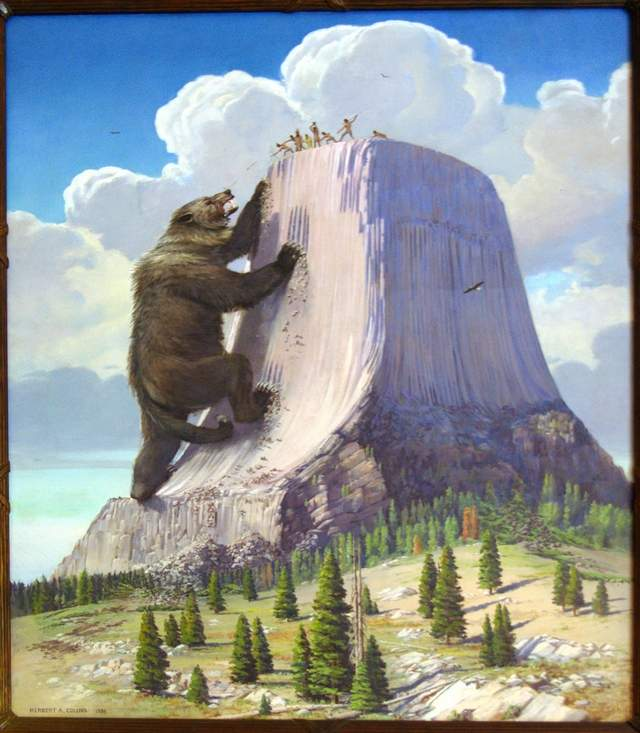 Herbert A. Collins' Interpretation of the Devils Tower Creation Story