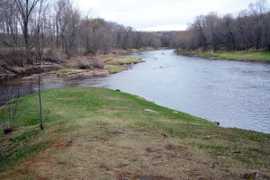 Cunningham Creek flowing into the Black River