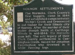 Clark County, WI about the various LDS/Mormon settlements and lumber colonies in the area.