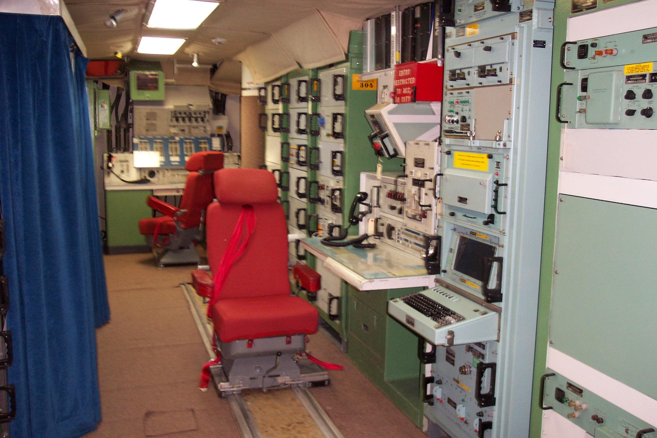 Underground Launch Control Center Delta-01