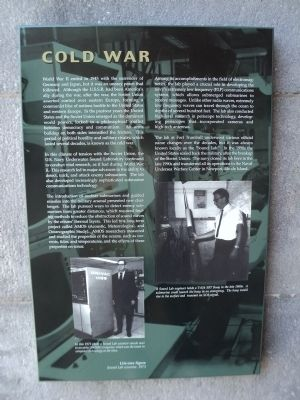 Cold War Marker Photo By Bill Coughlin