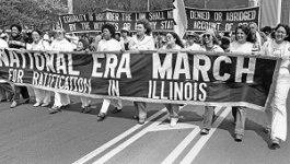National ERA March for Ratification in Illinois