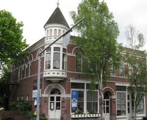 Kirkland Arts Center is located in one of the historic buildings constructed by city founder Peter Kirk.