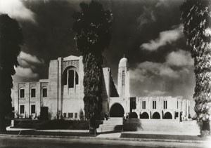 Wilshire Ward Chapel just after it's completion in 1929
