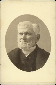 Wilford Woodruff in 1887.