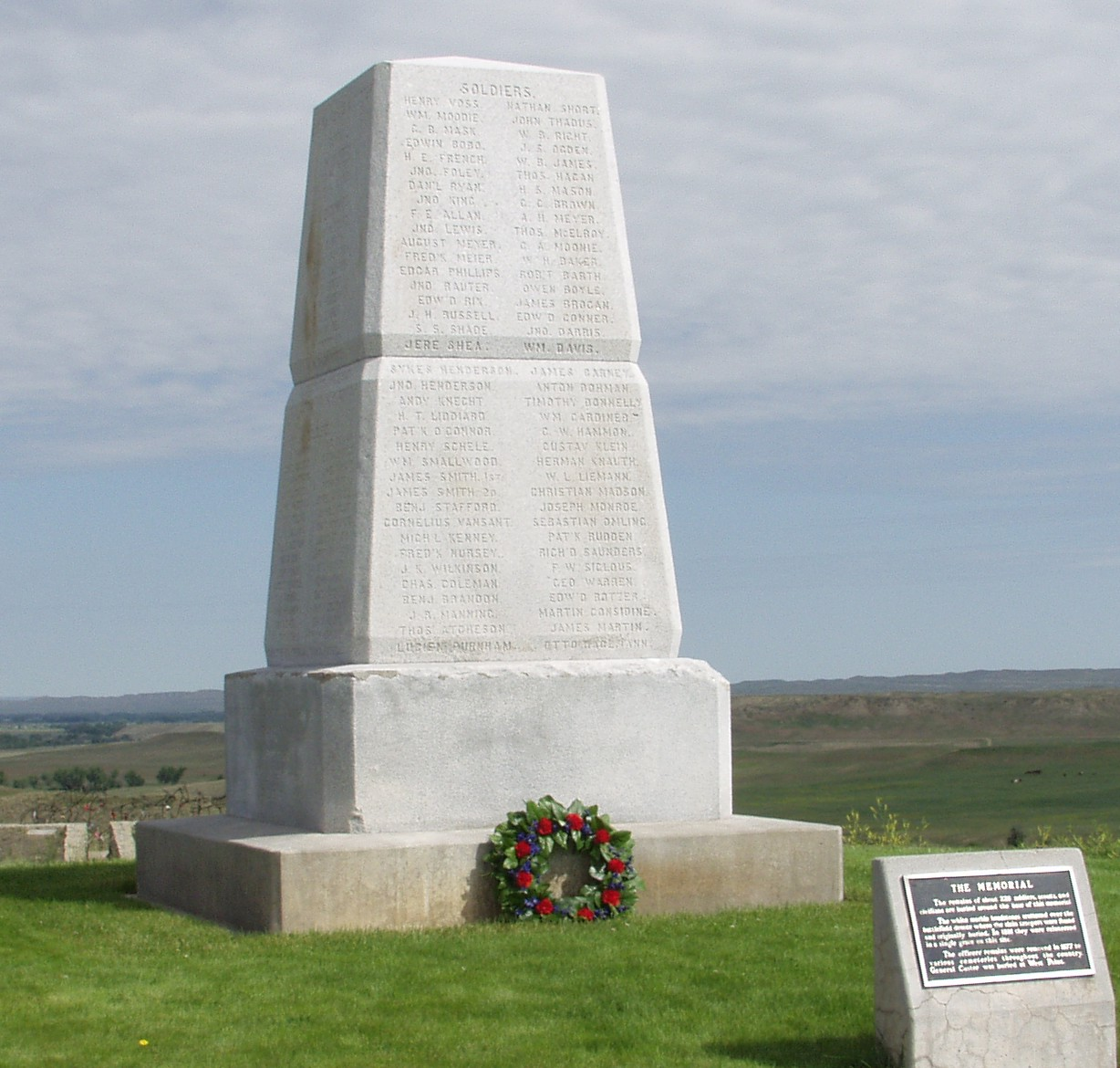 The memorial commemorates one of the worst military defeats for the US Army after a fateful decision and a victory by Plains Indians.