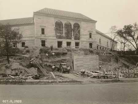 Progress of the Art Museum's facilities in 1928