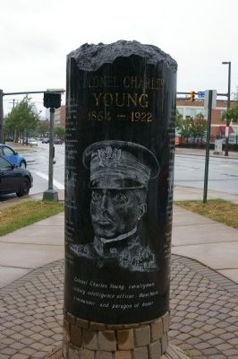 Colonel Charles Young Marker. Photo by Christopher Busa-Peck.