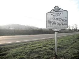 The mound is located on private property in Mason County, on the Ohio River south of Point Pleasant.