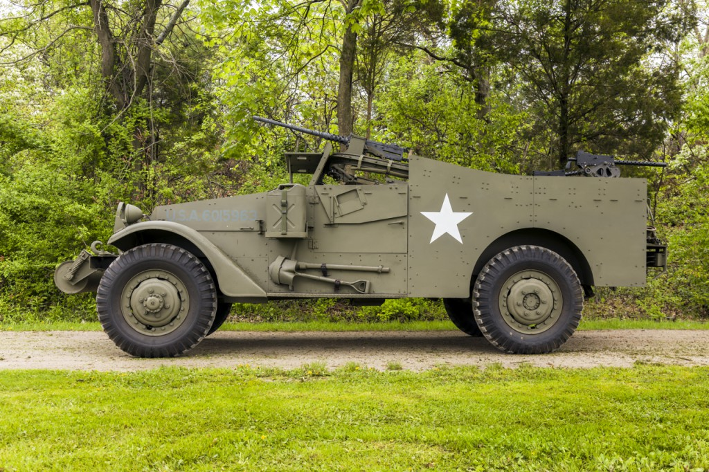 This is a picture of a M3 Scout Car.