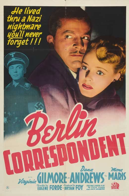 """Films that featured wartime themes were common at the LaBelle during World War 2, such as 1942's """"Berlin Correspondent,"""" which played during December of that year."""