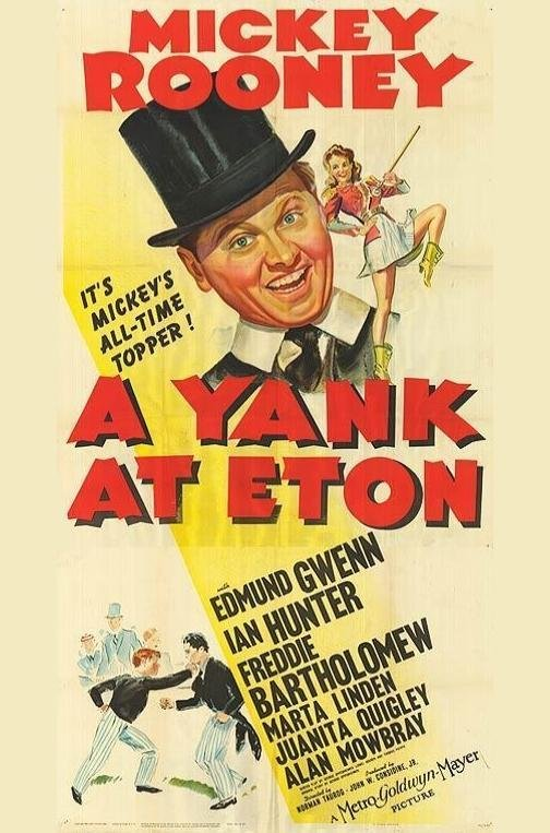"""Not all wartime cinema was dour, however. """"A Yank At Eaton,"""" starring Mickey Rooney, opened at the LaBelle in March 1943."""