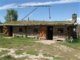 The historical Trading Post in Ft. Bridger