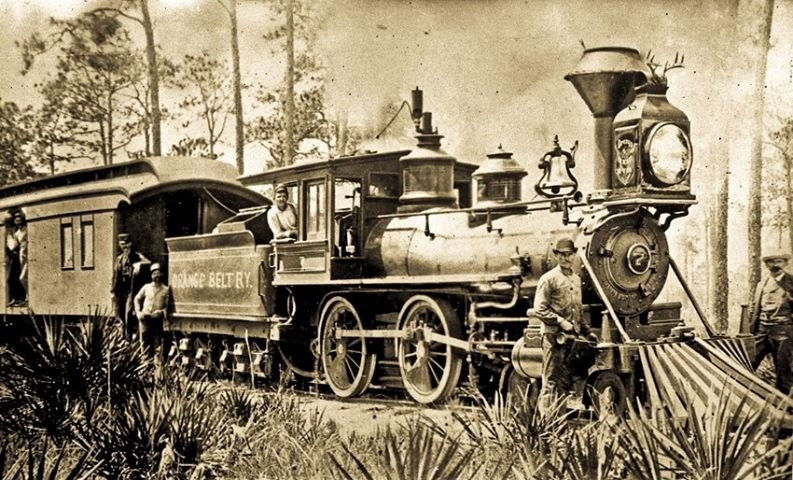 The Orange Belt Train circa 1890's