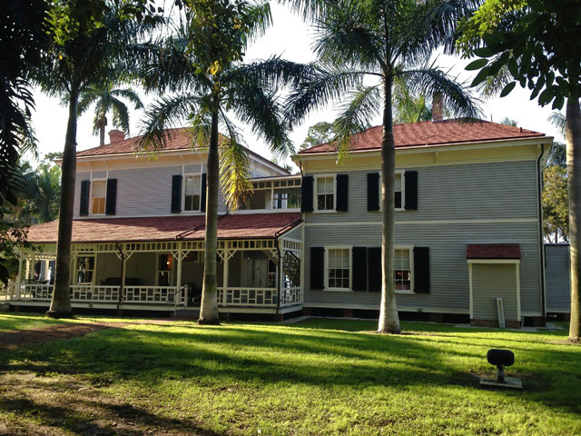 Thomas Edison first visited Fort Myers in 1885 started to build his estate the next year.