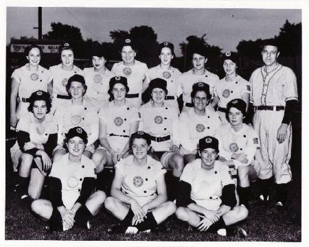 1952 Battle Creek Belles team picture