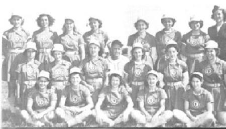 1948 Springfield Sallies team photo