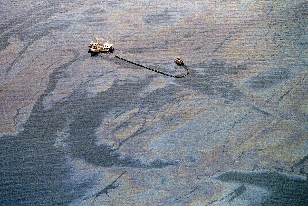Image of the Exxon Valdez Oil Spill