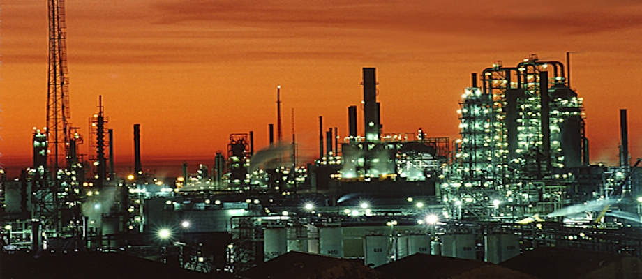 Baton Rouge Refinery where they had an pipeline spill and benzene leak