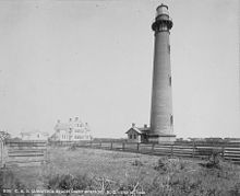 Currituck Lighthouse in 1883