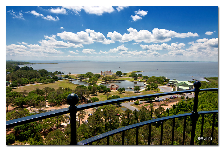 View from the top of Currituck Lighthouse