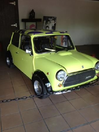 Paul McCartney's Mini Cooper