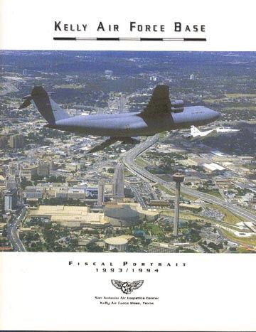 Kelly AFB document, 1993