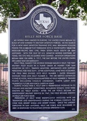 Kelly AFB Marker