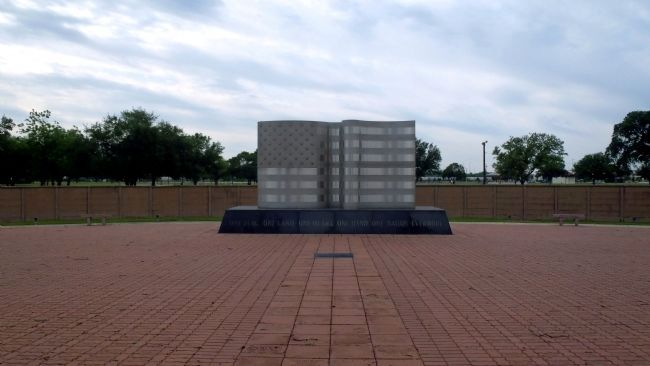 Memorial Park at the Kelly AFB Marker