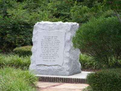 Savannah River Site Marker