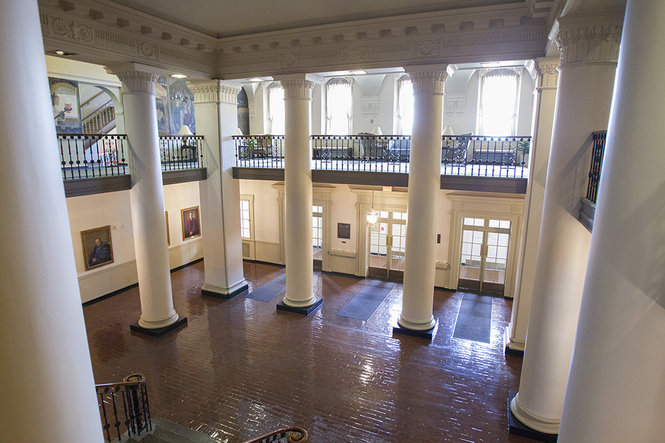 Inside of Old Main