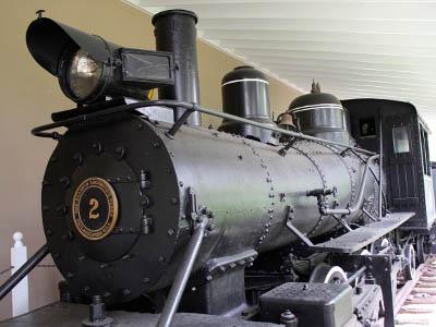 The Baldwin locomotive