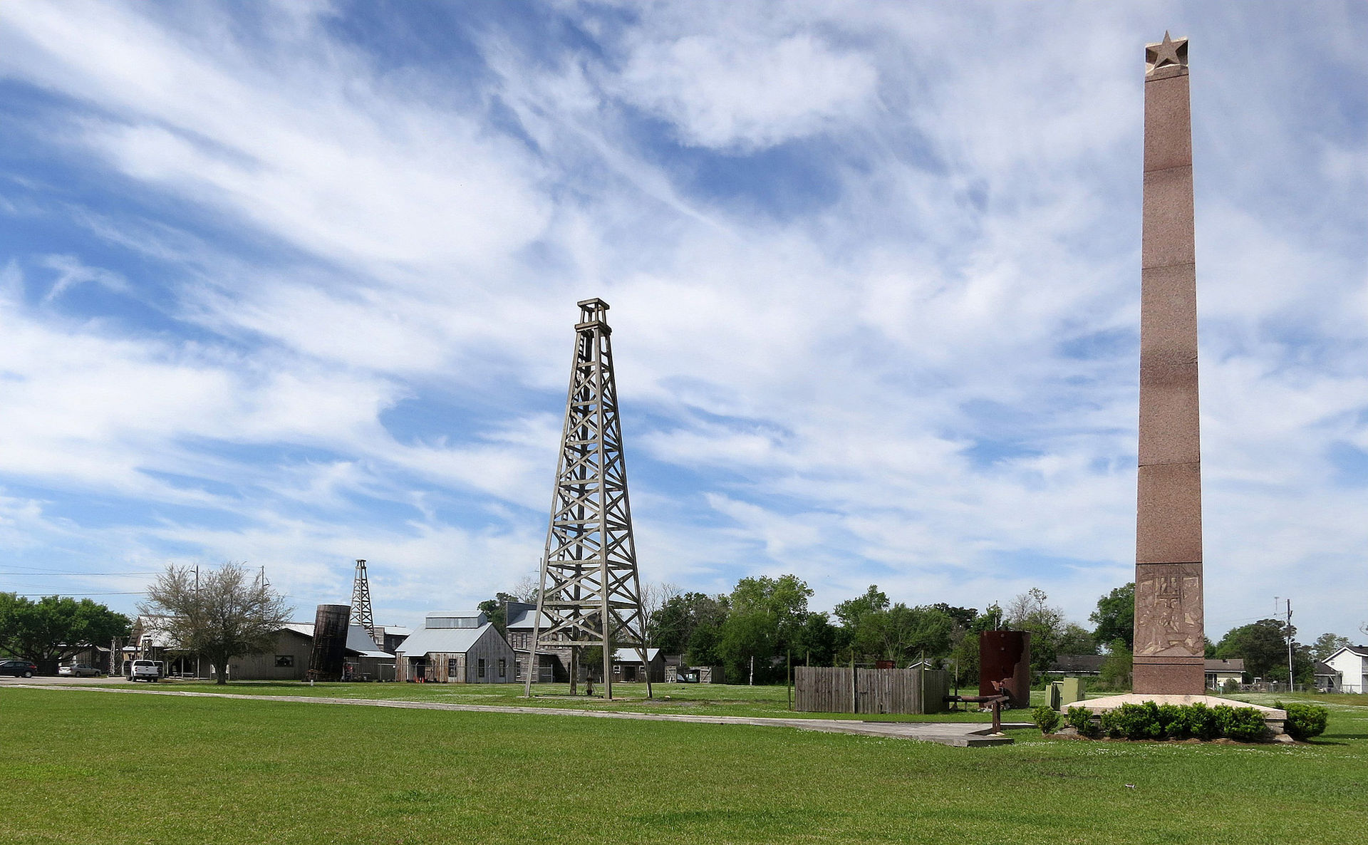 The Spindletop-Gladys City Boomtown Museum opened in 1976.