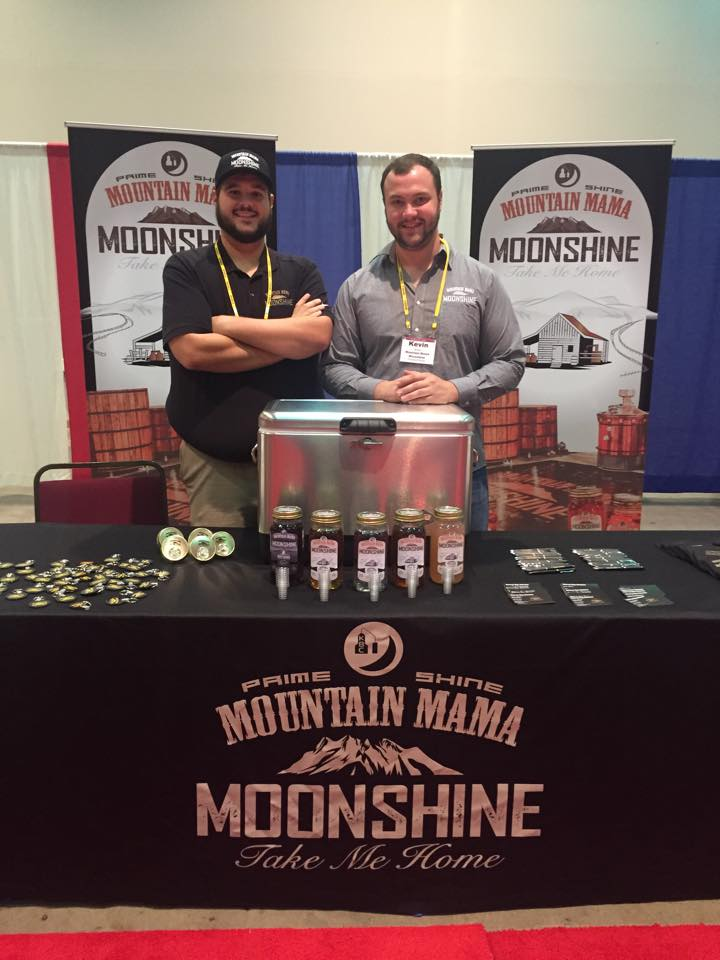 Two of the owners of the moonshine distillery.