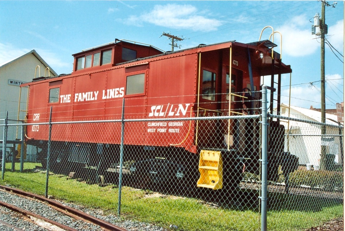 Clinchfield Caboose